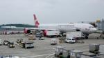 ちゃぽんさんが、成田国際空港で撮影したヴァージン・アトランティック航空 A340-642の航空フォト(飛行機 写真・画像)