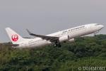 遠森一郎さんが、福岡空港で撮影したJALエクスプレス 737-846の航空フォト(写真)