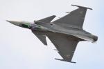Tomo-Papaさんが、フェアフォード空軍基地で撮影したハンガリー空軍 JAS39Cの航空フォト(写真)