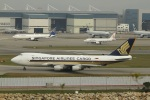 garrettさんが、香港国際空港で撮影したシンガポール航空カーゴ 747-412F/SCDの航空フォト(写真)