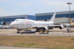 NH642さんが、香港国際空港で撮影したオリエント・タイ航空 747-412の航空フォト(写真)
