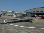 新人スマイスさんが、宇都宮飛行場で撮影した日本モーターグライダークラブ 172P Skyhawk IIの航空フォト(写真)