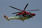 新人スマイスさんが、宇都宮飛行場で撮影した栃木県消防防災航空隊 AW139の航空フォト(写真)