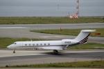 ハピネスさんが、関西国際空港で撮影したネットジェッツ・エイビエーション G-V-SP Gulfstream G550の航空フォト(飛行機 写真・画像)