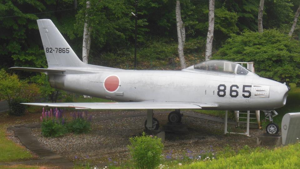 ゴンタさんの航空自衛隊 Mitsubishi F-86 Sabre  (82-7865) 航空フォト