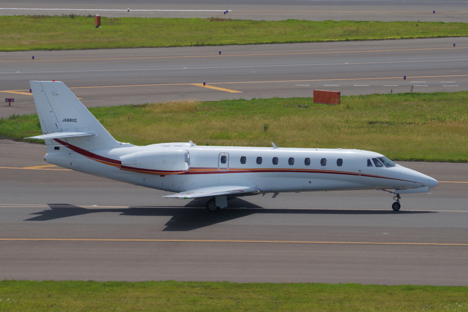 yabyanさんの朝日航洋 Cessna 680 Citation Sovereign/Sovereign+ (JA680C) 航空フォト