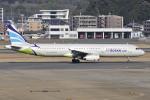 Orange linerさんが、福岡空港で撮影したエアプサン A321-231の航空フォト(写真)