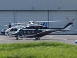 SK-51Aさんが、東京ヘリポートで撮影した日本法人所有 AW139の航空フォト(写真)