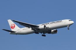 安芸あすかさんが、羽田空港で撮影した日本航空 767-346/ERの航空フォト(写真)