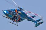 筑波のヘリ撮りさんが、宇都宮飛行場で撮影した栃木県警察 BK117C-1の航空フォト(写真)