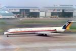 suu451さんが、羽田空港で撮影した日本エアシステム MD-81 (DC-9-81)の航空フォト(写真)