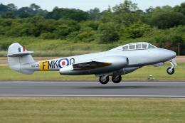 Tomo-Papaさんが、フェアフォード空軍基地で撮影したイギリス企業所有 Meteor T.7の航空フォト(飛行機 写真・画像)