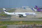 ガス屋のヨッシーさんが、関西国際空港で撮影したフィンエアー A350-941XWBの航空フォト(写真)