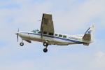 武彩航空公司(むさいえあ)さんが、調布飛行場で撮影したアジア航測 208 Caravan Iの航空フォト(写真)