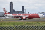 @たかひろさんが、成田国際空港で撮影したインドネシア・エアアジア・エックス A330-343Xの航空フォト(写真)
