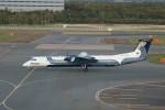 しんさんが、新千歳空港で撮影したオーロラ DHC-8-402Q Dash 8の航空フォト(写真)