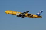 しんさんが、新千歳空港で撮影した全日空 777-281/ERの航空フォト(写真)