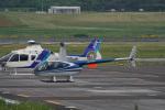 神宮寺ももさんが、高松空港で撮影した日本法人所有 R44 Clipperの航空フォト(写真)