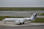 ハピネスさんが、関西国際空港で撮影したビジネス・エイビエーション・サービス G-V-SP Gulfstream G550 Eitamの航空フォト(飛行機 写真・画像)