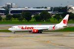 まいけるさんが、ドンムアン空港で撮影したタイ・ライオン・エア 737-9-MAXの航空フォト(写真)
