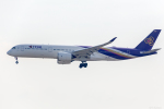 Y-Kenzoさんが、成田国際空港で撮影したタイ国際航空 A350-941XWBの航空フォト(写真)