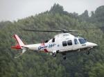 ランチパッドさんが、静岡ヘリポートで撮影した静岡エアコミュータ AW109SPの航空フォト(写真)
