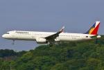 あしゅーさんが、福岡空港で撮影したフィリピン航空 A321-231の航空フォト(飛行機 写真・画像)