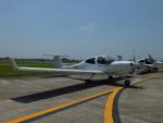 新人スマイスさんが、宇都宮飛行場で撮影したアルファーアビエィション DA40 NG Diamond Starの航空フォト(写真)