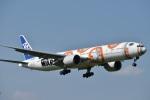 たっしーさんが、成田国際空港で撮影した全日空 777-381/ERの航空フォト(写真)