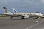 NIKEさんが、マレ・フルレ国際空港で撮影したエティハド航空 A320-232の航空フォト(写真)