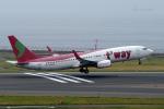 yabyanさんが、中部国際空港で撮影したティーウェイ航空 737-86Jの航空フォト(飛行機 写真・画像)