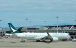 toyoquitoさんが、関西国際空港で撮影したキャセイパシフィック航空 A350-941XWBの航空フォト(写真)