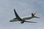 クルーズさんが、成田国際空港で撮影した日本航空 777-346/ERの航空フォト(写真)