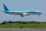 Y-Kenzoさんが、成田国際空港で撮影した大韓航空 737-9B5の航空フォト(写真)