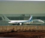 エルさんが、成田国際空港で撮影したエアーニッポン A320-211の航空フォト(写真)