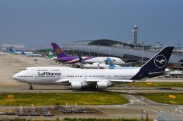 we love kixさんが、関西国際空港で撮影したルフトハンザドイツ航空 747-430の航空フォト(写真)