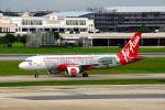 まいけるさんが、ドンムアン空港で撮影したエアアジア A320-216の航空フォト(写真)