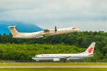 Cygnus00さんが、新千歳空港で撮影したユニカル・アヴィエーション DHC-8 Dash 8の航空フォト(写真)