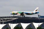 まいけるさんが、スワンナプーム国際空港で撮影したバンコクエアウェイズ A320-232の航空フォト(写真)