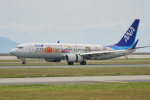 ちゃぽんさんが、岩国空港で撮影した全日空 737-881の航空フォト(写真)