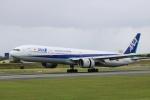 水月さんが、伊丹空港で撮影した全日空 777-381の航空フォト(写真)