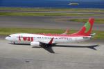yabyanさんが、中部国際空港で撮影したティーウェイ航空 737-8GJの航空フォト(写真)
