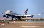 KAZKAZさんが、マッカラン国際空港で撮影したブリティッシュ・エアウェイズ 747-436の航空フォト(写真)