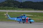 トールさんが、静岡空港で撮影した警視庁 AW139の航空フォト(写真)
