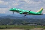 トールさんが、静岡空港で撮影したフジドリームエアラインズ ERJ-170-100 SU (ERJ-170SU)の航空フォト(写真)