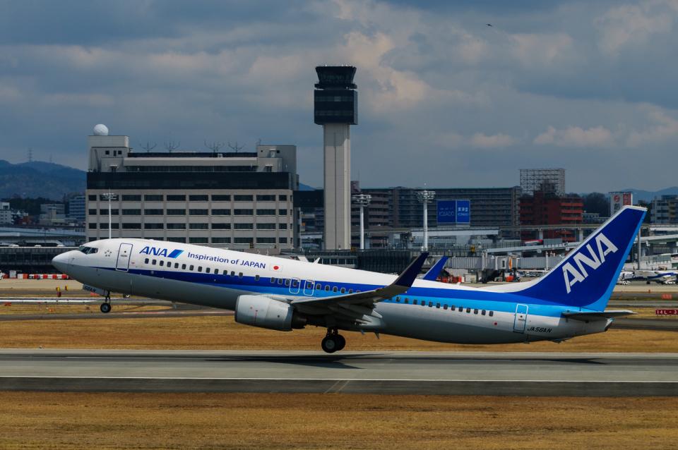 YZR_303さんの全日空 Boeing 737-800 (JA56AN) 航空フォト