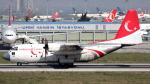 誘喜さんが、アタテュルク国際空港で撮影したトルコ空軍 C-130E Herculesの航空フォト(写真)