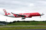 コージーさんが、成田国際空港で撮影したインドネシア・エアアジア・エックス A330-343Xの航空フォト(写真)