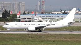 誘喜さんが、アタテュルク国際空港で撮影したアナドルジェット 737-8F2の航空フォト(飛行機 写真・画像)
