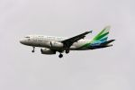 まいけるさんが、スワンナプーム国際空港で撮影したランメイ・エアラインズ A319-132の航空フォト(写真)